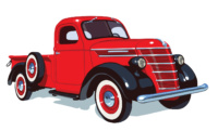1938 International Harvester D-2 Series Half-Ton Pickup