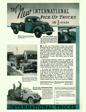 The New International Pick-Up Trucks In 3 Sizes