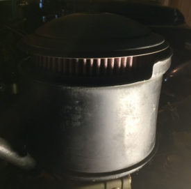 Air Cleaner With K&N Filter Installed