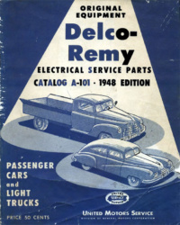 Delco-Remy Electrical Service Parts Catalogue (1948)