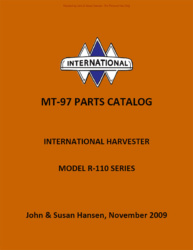 International Harvester MT-97 Parts Catalog for L and R-Series Trucks