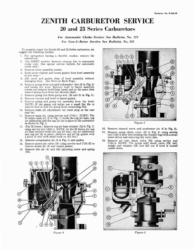 Zenith Carburetor Service Manual - 20 and 23 Series Carburetors