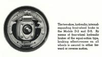 International D-2, D-5 Brake Detail