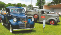 A well-matched pair, the '46 Dodge WC half-ton and the '40 International D-2 characterize the Art Deco movement popular during their time of production.