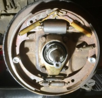 Front Driver's Side Brakes Post Repair