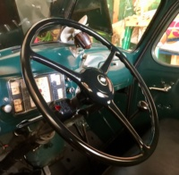 Steering Wheel After Final Painting and Reassembly